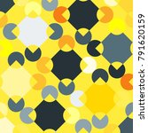 colorful mosaic background with ... | Shutterstock .eps vector #791620159