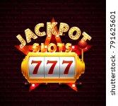 slots 777 casino jackpot ...   Shutterstock .eps vector #791625601