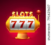 slots 777 casino jackpot ...   Shutterstock .eps vector #791625637