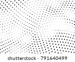 abstract halftone wave dotted... | Shutterstock .eps vector #791640499
