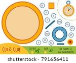 education paper game for... | Shutterstock .eps vector #791656411