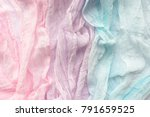 pale colour pastel cloth on a... | Shutterstock . vector #791659525