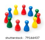 game pawns | Shutterstock . vector #79166437