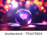 fortune teller concept  love... | Shutterstock . vector #791675824
