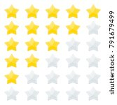 5 stars rating. feedback and... | Shutterstock .eps vector #791679499