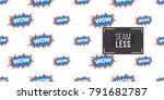 shop online collection. vector...   Shutterstock .eps vector #791682787