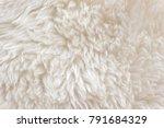 white soft wool texture... | Shutterstock . vector #791684329
