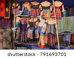 colorful  traditional hmong... | Shutterstock . vector #791693701