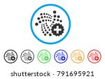 iota create rounded icon. style ... | Shutterstock .eps vector #791695921