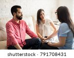relationship psychologist... | Shutterstock . vector #791708431