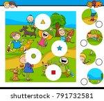 cartoon vector illustration of...   Shutterstock .eps vector #791732581