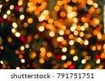 abstract blurred colorful bokeh ... | Shutterstock . vector #791751751