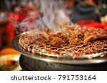 korean barbecue  korean food ... | Shutterstock . vector #791753164