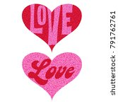 Mod Pink Red Love Valentine...