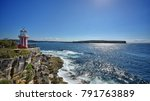 light house of sydney ... | Shutterstock . vector #791763889