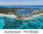 aerial view of the harbour ... | Shutterstock . vector #791782681