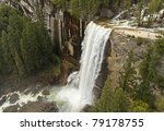 View Of Vernal Falls In Its...