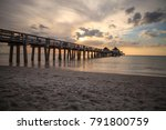 naples pier on the beach at...   Shutterstock . vector #791800759
