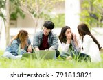 education  school and people... | Shutterstock . vector #791813821