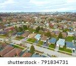 aerial bird eye view skyline at ...   Shutterstock . vector #791834731