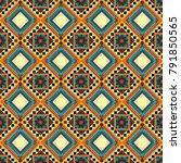 abstract vector geometry... | Shutterstock .eps vector #791850565