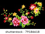 beauty flower design | Shutterstock .eps vector #79186618