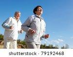 portrait of happy mature couple ... | Shutterstock . vector #79192468