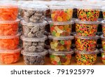 colorful local candy in... | Shutterstock . vector #791925979