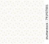 vector seamless subtle stripes... | Shutterstock .eps vector #791937001