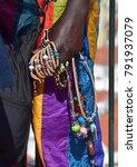 african jewelry seller | Shutterstock . vector #791937079
