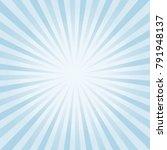 abstract soft light blue rays... | Shutterstock .eps vector #791948137