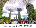 singapore  09 august 2017   the ... | Shutterstock . vector #791972161