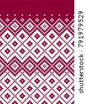 romanian folk pattern  | Shutterstock .eps vector #791979529