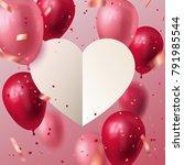 vector stock holiday... | Shutterstock .eps vector #791985544
