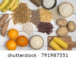 carbohydrates  different... | Shutterstock . vector #791987551