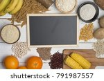 carbohydrates  different... | Shutterstock . vector #791987557