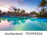 playa del carmen  mexico   july ... | Shutterstock . vector #791995534
