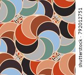 abstract color seamless pattern ... | Shutterstock .eps vector #792012751