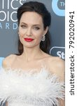 angelina jolie at the 23rd... | Shutterstock . vector #792020941