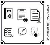 bussiness settings icon vector
