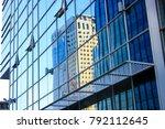 tel aviv israel january 11 2018 ... | Shutterstock . vector #792112645