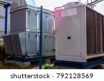industrial air handling unit... | Shutterstock . vector #792128569
