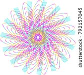 Spiral Abstract Pattern In...
