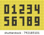 Vector Black Numbers From...