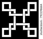 oriental knot illustration   Shutterstock . vector #792198664