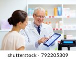 medicine  healthcare and... | Shutterstock . vector #792205309