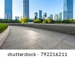 panoramic skyline and modern... | Shutterstock . vector #792216211