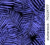 watercolor seamless pattern... | Shutterstock . vector #792229777