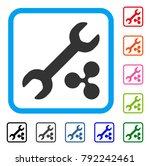 ripple repair cost icon. flat...