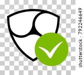 nem validation vector icon.... | Shutterstock .eps vector #792246649